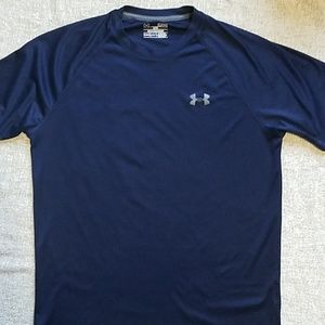 Under Armour Shirts - Under Armour Men's small blue loose tshirt
